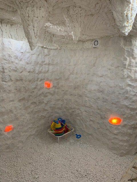 solná jeskyně v interiéru MŠ