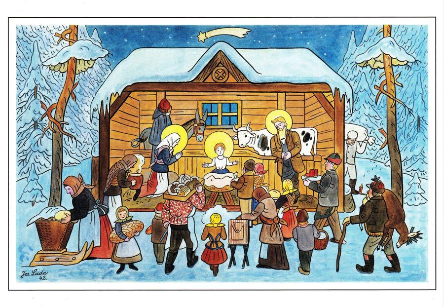 Vánoce od Josefa Lady