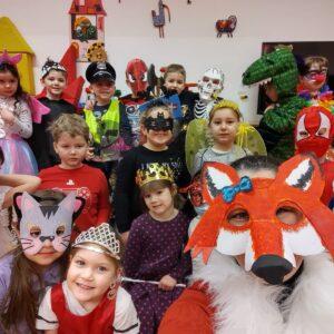 Karneval ve třídě Lištiček