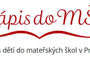 Zápis do MŠ - logo
