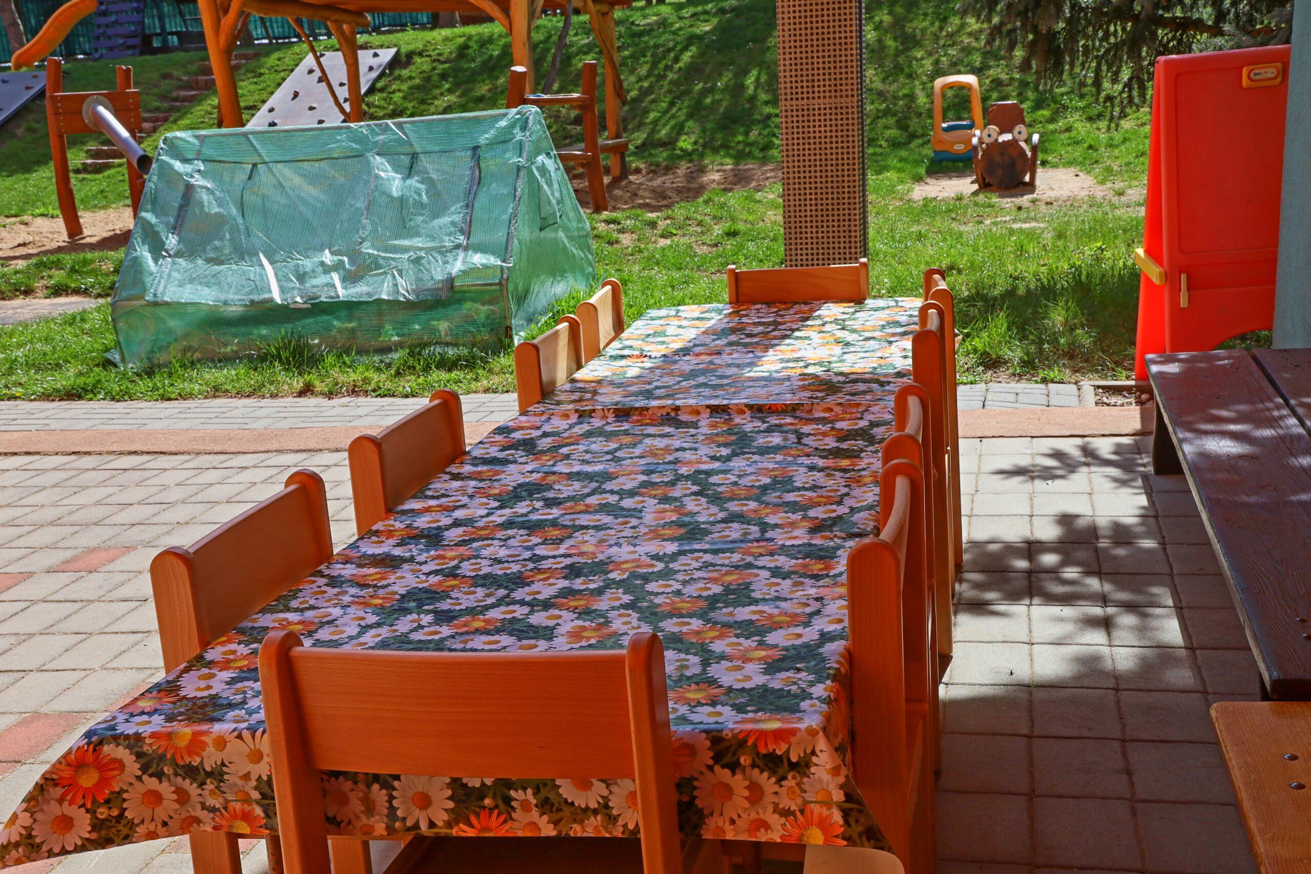 zahrada - venkovní učebna 2